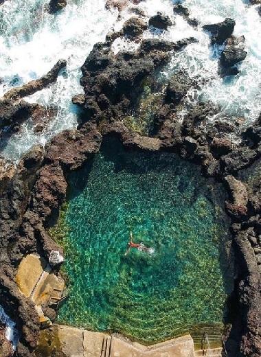 piscinas naturais do pico