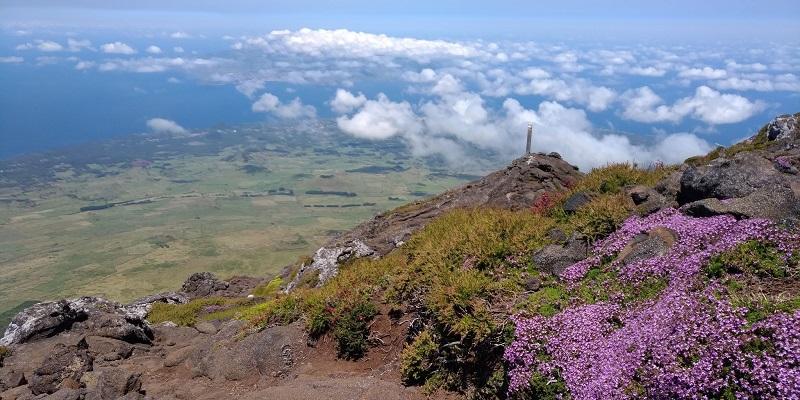 pico mountain - the climbing